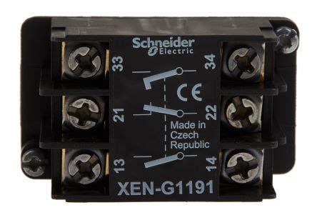 xeng schneider electric xeng contact block  nc