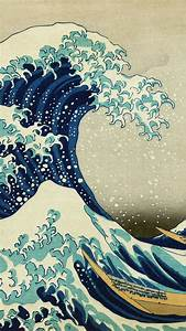 ab75 wallpaper great wave kanagawa wallpaper