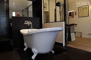 Petite Baignoire Retro : salle de bains mires paris ~ Edinachiropracticcenter.com Idées de Décoration