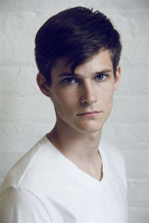 Brown Hair Boy by This Is Roxen He Is 19 Years Brown Hair Blue