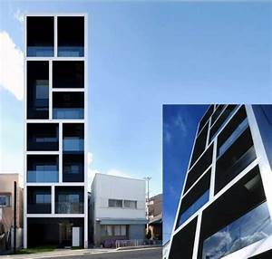 Mismatched Cubic Architecture Apartment In Katayama