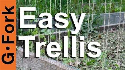 trellis gardenforktv youtube