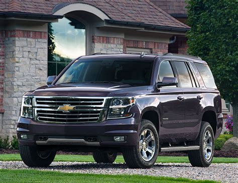 Chevy Tahoe 2016 Review