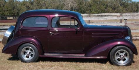 1936 Chevy Master Sedan Street Rod- New Black Cherry
