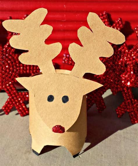 len aus papier basteln weihnachten klopapierrollen dansenfeesten