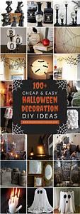 100, Cheap, And, Easy, Halloween, Decor, Diy, Ideas