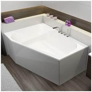 Badewanne 120 Cm : hoesch spectra trapez badewanne 180 x 120 cm linke ausf hrung megabad ~ Markanthonyermac.com Haus und Dekorationen