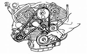 How Do I Change The Serpentine Belt Sonata 2 7l