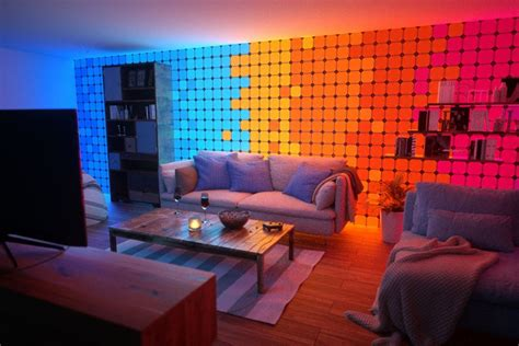 whats   nanoleaf setup   smart light panels