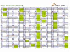 Ferien NordrheinWestfalen 2015 Ferienkalender zum