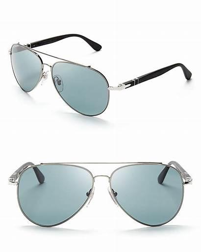 Sunglasses Aviator Persol Polarized Metal Pilot Metallic