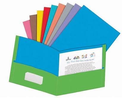 Folder Clipart Pocket Clip Folders Homework Cliparts