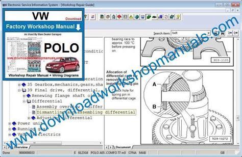 Polo Workshop Manual