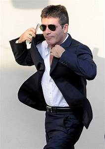 Simon Cowell in Simon Cowell at a Taping of 'Britain's Got ...