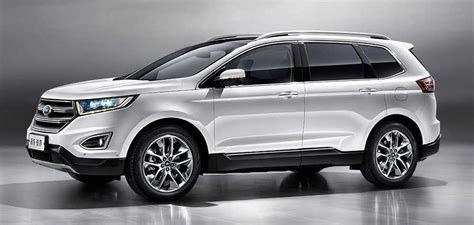 Ford Edge  China Gets Unique Sevenseater Version