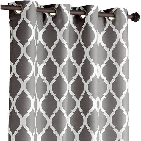 Geometric Pattern Window Curtains by 25 Best Gray Curtains Ideas On Grey Patterned