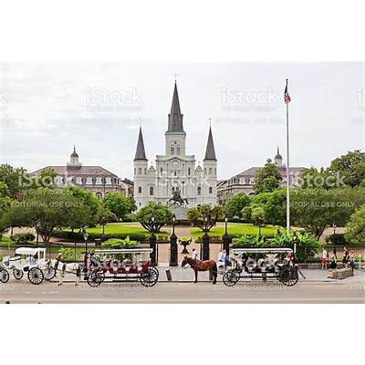 Jackson Square New Orleans In Spring And St Louis