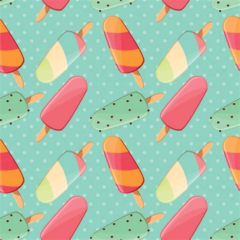 Summer Pattern Design Vector  Free Download
