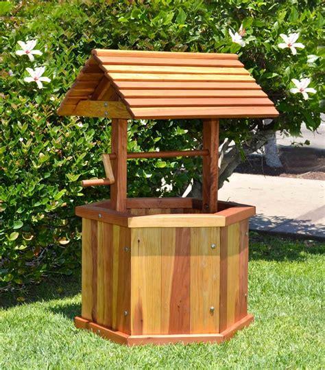 build wood wishing wells  plans