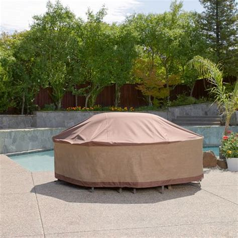 duck covers ultimate rectangle patio table cover walmart