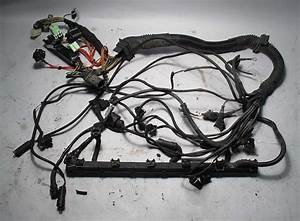 Bmw E39 1998 528i 5 Spd Manual Engine Wiring Harness Complete M52 Used Oem