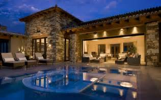 Stunning Mediterranean House Plans With Pools by House Design Styles Tell Who And What Are You Actually