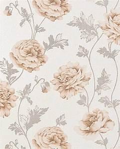 Papier peint floral style country EDEM 086-23 papier peint ...
