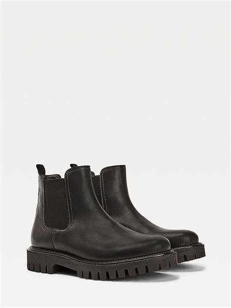 Casual Chunky Sole Chelsea Boots | BLACK | Tommy Hilfiger