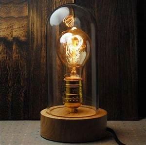 rustic bell jarred lamps bell jar lamp With bright rustic floor lamp