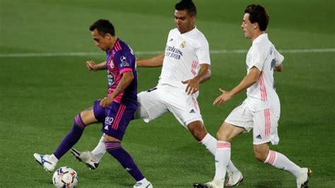 Real Madrid - Valladolid: resumen, resultado y goles del ...