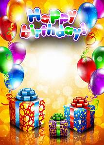 16 Birthday Borders Vector Images - Birthday Frames Free ...