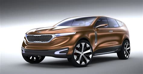 Kia Cuv by Kia Cross Gt Concept Cuv Unveiled Photos 1 Of 6