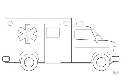 ausmalbild rettungswagen ausmalbilder kostenlos zum
