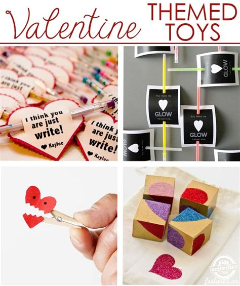 quick easy valentine themed toy ideas  images