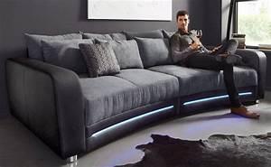 Big Sofas Günstig Kaufen : big sofa inklusive rgb led beleuchtung kaufen otto ~ Bigdaddyawards.com Haus und Dekorationen