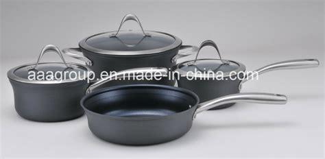 cookware china anodized aluminum hard fda coated lfgb stick safe non food