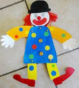 Bricolage A Faire Avec Des Petit : un petit clown pantin petits bricolages crafts ~ Melissatoandfro.com Idées de Décoration