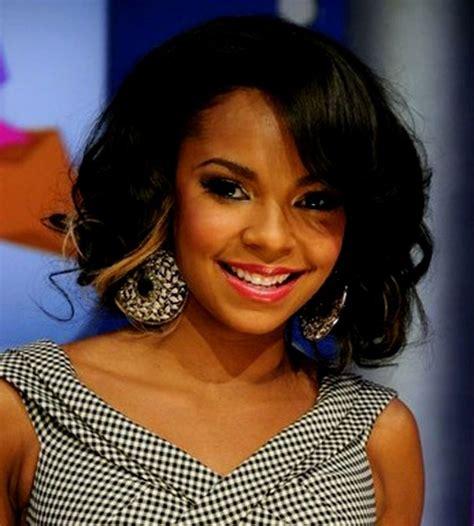 african american weave hairstyles medium length elle