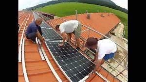 Installation Panneau Solaire : installation panneaux solaires youtube ~ Dode.kayakingforconservation.com Idées de Décoration