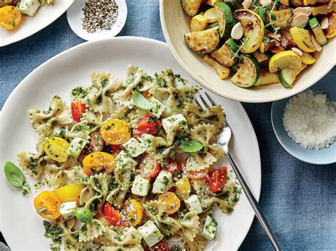 Light Cooking Recipes by Summer Pasta Recipes Cooking Light