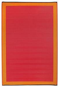 Tapis Intérieur Extérieur : tapis int rieur ext rieur skien orange et rouge moyen ~ Teatrodelosmanantiales.com Idées de Décoration