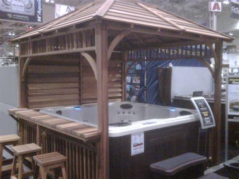 design  awesome hot tub gazebo