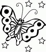 Butterfly Coloring Pages Printable Butterflies Colouring Sheets Children Printables Animals Childrens Animales Fly sketch template
