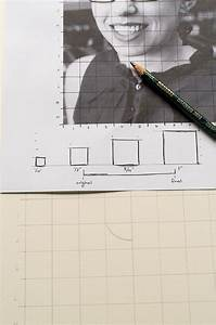 How To Use A Grid To Enlarge An Image While Drawing