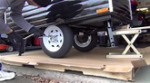 Time Out Deluxe Motorcycle Camper Assembly - YouTube