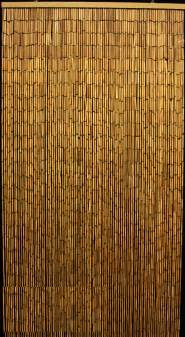 plain bamboo beaded curtain 90 strands 35 x 75 78