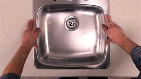 RONA   Comment poser un évier de cuisine   YouTube
