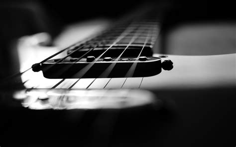black white wallpaper desktop guitar wallpapers