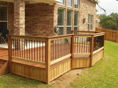 cheap deck railing ideas architectural design