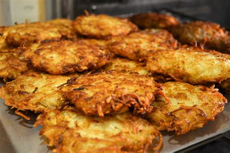 Jewish Potato Pancakes Latkes